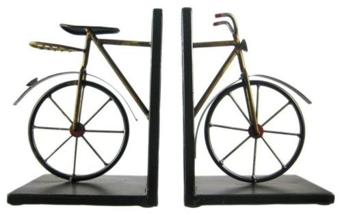 fantastische Bücherstützen abenteur bücher fahrrad