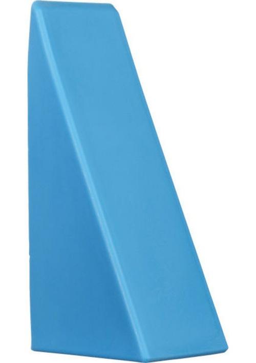 fantastische Bücherstützen blau plastisch auffallend