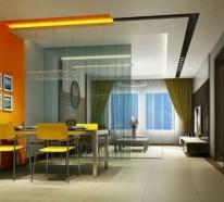 Die Farbe Orange für Ihr Esszimmer