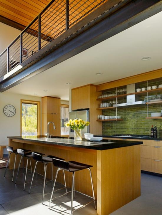 farben f r k chenw nde 15 tolle r ckw nde in gr nen farbnuancen. Black Bedroom Furniture Sets. Home Design Ideas