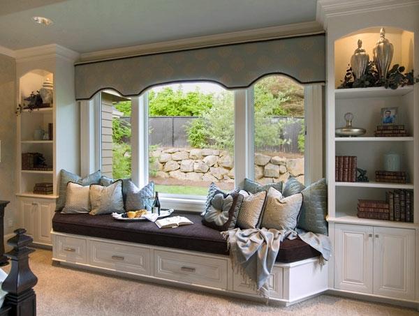 Fensternische ideen f r mehr gem tlichkeit zu hause - Bett vorm fenster stellen ...