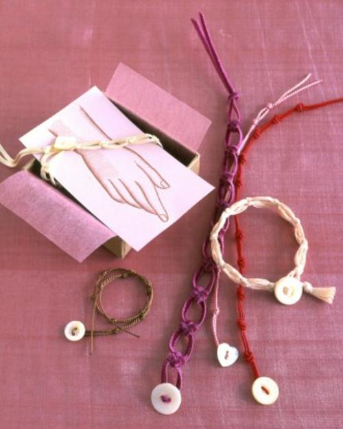 frische DIY Ideen zum Valentinstag armband