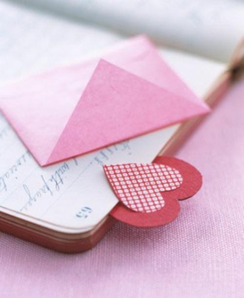 frische DIY Ideen zum Valentinstag bücher romantisch