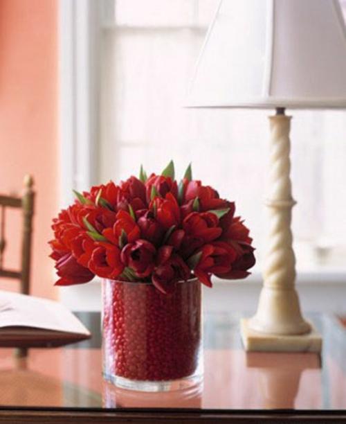 frische DIY Ideen zum Valentinstag blumenstrauß
