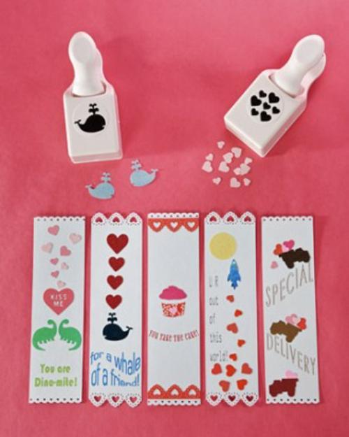 frische DIY Ideen zum Valentinstag bookmark