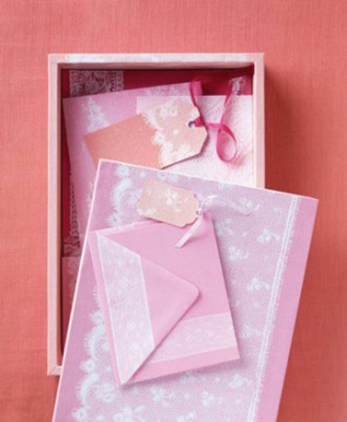 DIY Ideen zum Valentinstag brief schreiben