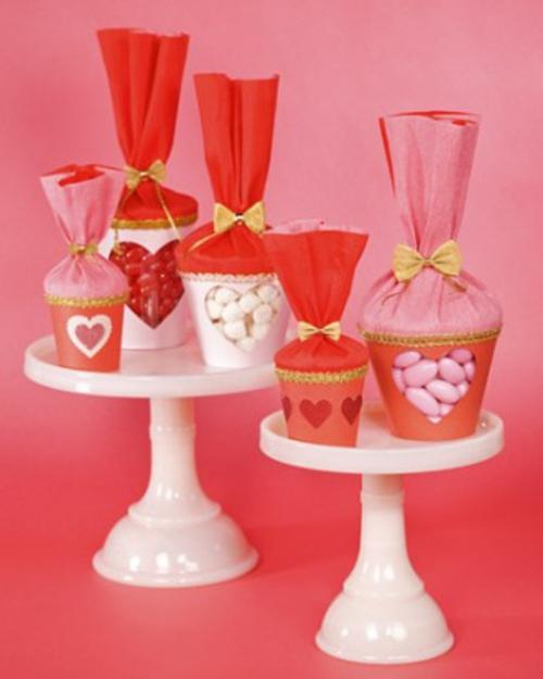frische DIY Ideen zum Valentinstag etagere