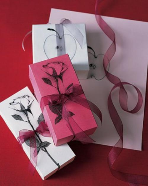 DIY Ideen zum Valentinstag verpackung