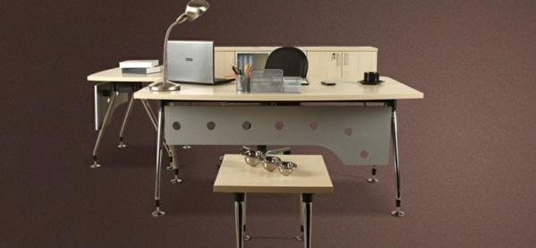 günstige Schreibtische fürs Büro ausstattung holz hell