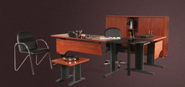 günstige Schreibtische fürs Büro ausstattung schwarz beine