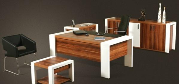 günstige Schreibtische fürs Büro ausstattung weiß akzente