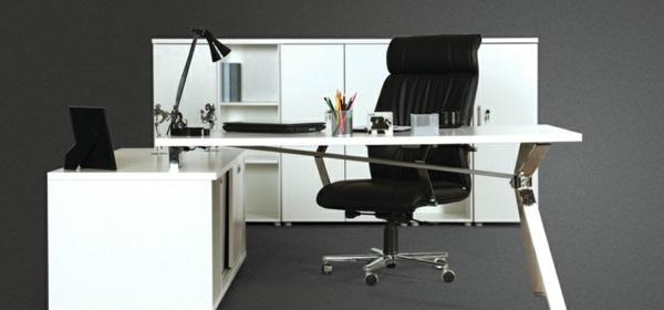günstige Schreibtische fürs Büro ausstattung weiß billig