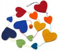 30 tolle Ideen für die Herz Dekoration zum Valentinstag