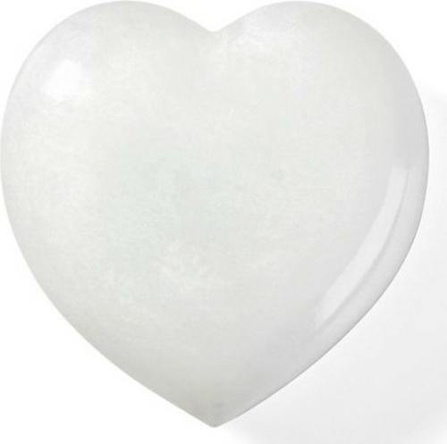 herz dekoration weiß alabaster