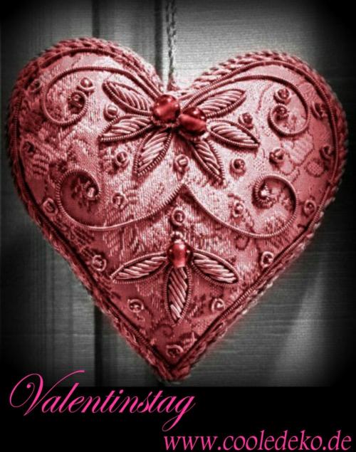 herz dekoration zum valentinstag