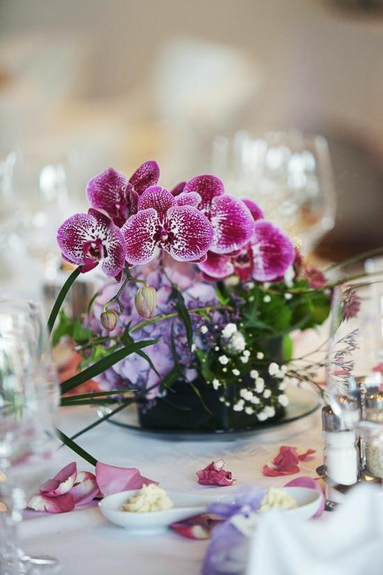 hochzeit im frühling blumen orchidee