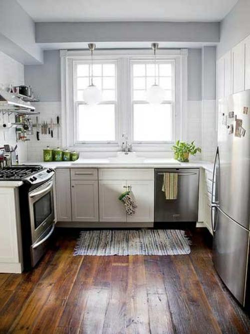 holzboden in der küche - 18 stilvolle designs für jeden geschmack - Holzdielen In Der Küche