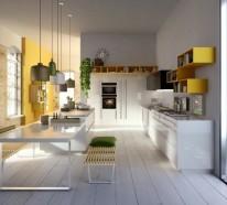 Italienische Küchenmöbel von Snaidero