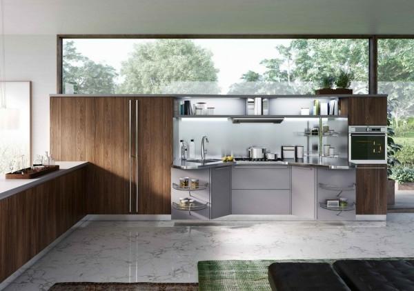 küchenmöbel schränke zedernholz marmor fußboden