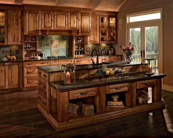 küchen designs viel stauraum helles holz