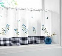 Die richtigen Küchengardinen – 18 Designs für ein gemütliches Interieur