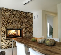 Gemütliches Ambiente mit Küchenkamin