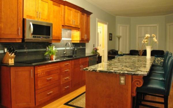 küchentrends 2014 granit arbeitsplatte grober maserung