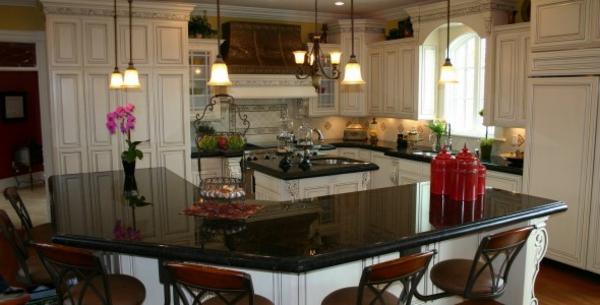 küchentrends 2014 schwarzer granit