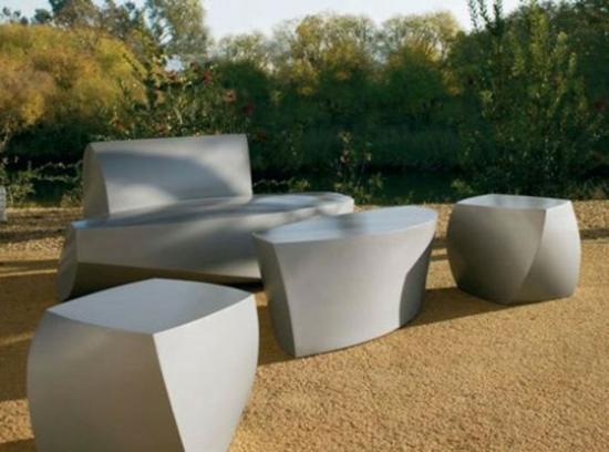 Lounge Gartenmobel Im Minimalistischen Stil