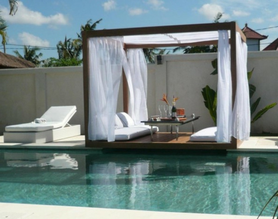 Gartenmöbel lounge  Lounge Gartenmöbel im minimalistischen Stil