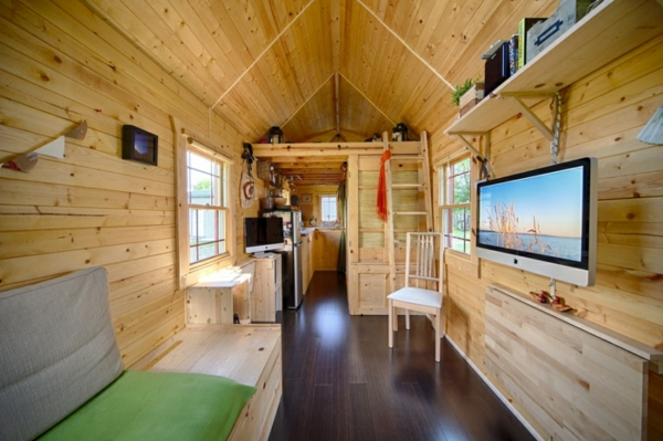 Mobiles Haus - Ein DIY Projekt mit gemütlichem Interieur