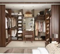 Moderne Kleiderschränke im Schlafzimmer