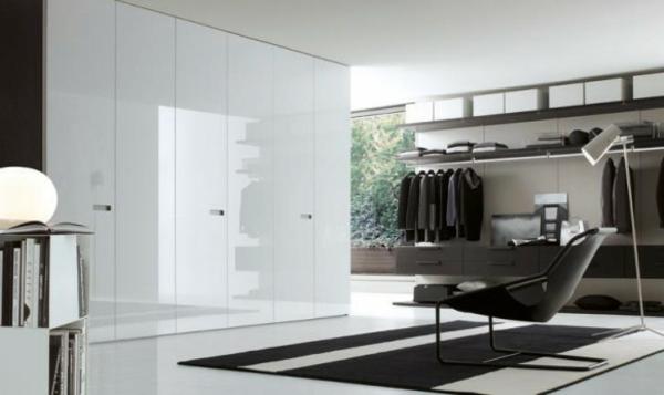 moderne kleider schränke designer sessel