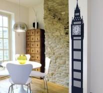 Moderne Wandtattoos – 18 großartige Muster für Ihre Wanddekoration