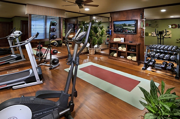 neujahrsvorsätze fitness raum geräte