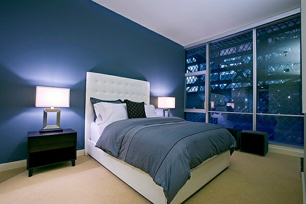 neujahrsvorsätze modernes schlafzimmer graues bettbezug