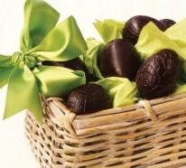DIY Ostereier aus Schokolade