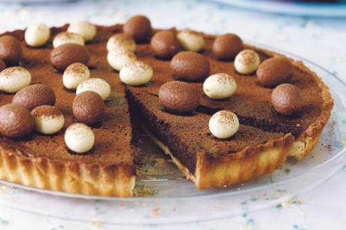 ostereier aus schokolade minieier kuchen