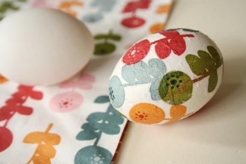 ostereier mit serviettentechnik pastellfarben floral