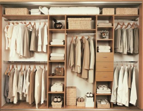 schön designten Kleiderschrank ankleideraum ordnung