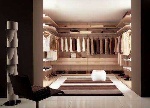 schön designten Kleiderschrank ankleideraum teppich