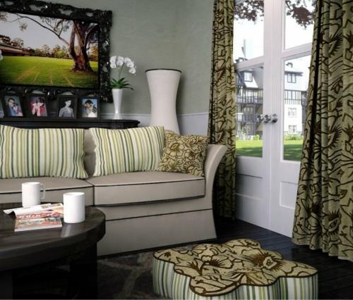 Schöne Wohnzimmer Ideen Einrichten Balkontür