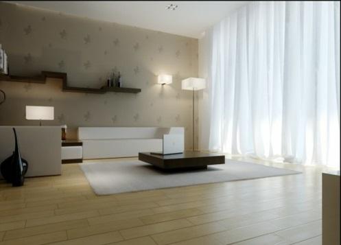 schöne Wohnzimmer Ideen einrichten sachlich dezent