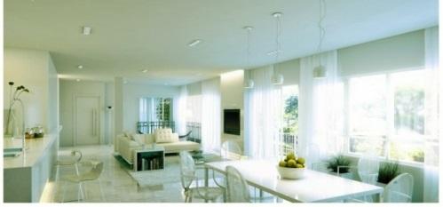 schöne Wohnzimmer Ideen warm einladend ambiente