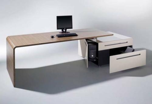 schreibtisch bürotisch ergonomisch funktional sachlich design