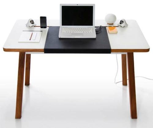 schreibtisch bürotisch ergonomisch studio holztischbeine