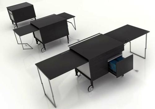 42 ausgefallene schreibtische f r ihr b ro. Black Bedroom Furniture Sets. Home Design Ideas