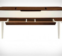 Schreibtisch design weiß  Schreibtisch Design für das moderne, minimalistische Büro