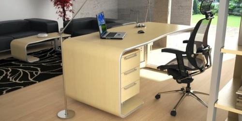 schreibtische büro schubladen aura desk alexander petrov design