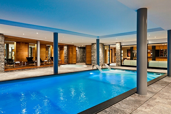 Schwimmbecken Zu Hause Geräumig Lang